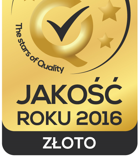 Golden Award for Quality!